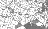 Old Map of Kingswood Common, 1881 - 1901