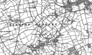 Old Map of Kington Langley, 1899