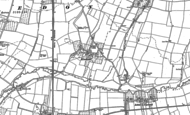 Old Map of Kinsham, 1900 - 1901