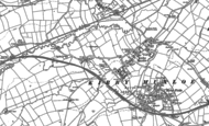 Old Map of Kirby Muxloe, 1885