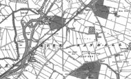 Old Map of Kirk Sandall, 1890 - 1891