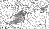 Old Map of Kirkby Mallory, 1885