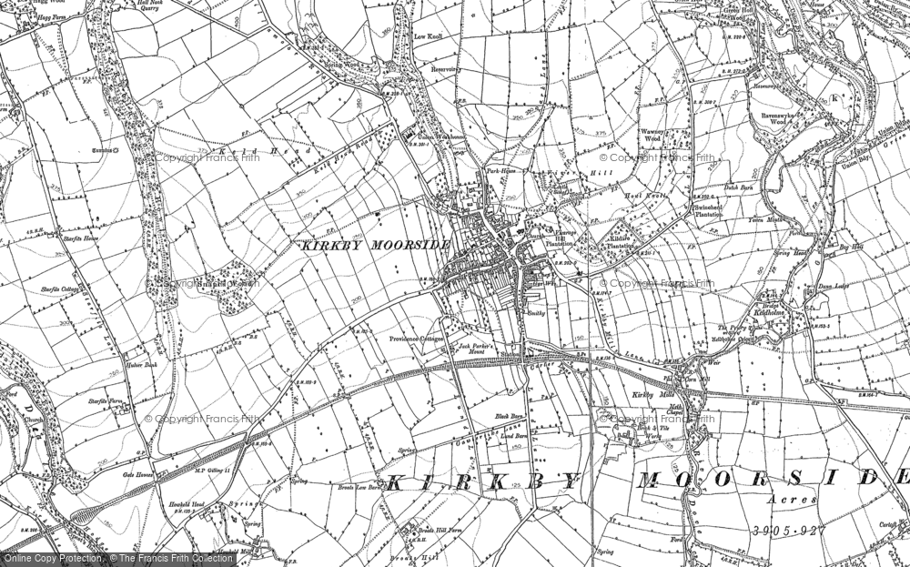 Old Map of Historic Map covering Woolah in 1853