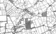 Old Map of Kirkcambeck, 1899