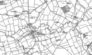 Old Map of Kites Hardwick, 1904