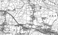 Old Map of Kiveton Park, 1890 - 1929