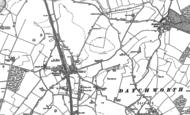 Old Map of Knebworth, 1897