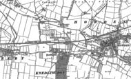 Old Map of Knedlington, 1889
