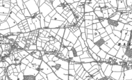 Old Map of Knightley, 1880 - 1881