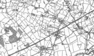 Old Map of Knighton, 1879 - 1899