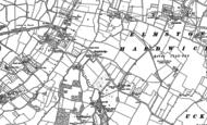 Old Map of Knightsbridge, 1883