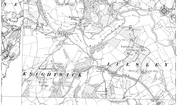 Old Map of Knightwick, 1885 - 1903