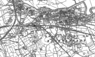Old Map of Knottingley, 1890 - 1891