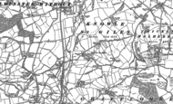 Old Map of Knowle St Giles, 1886 - 1901