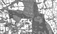 Old Map of Knowsley Park, 1891
