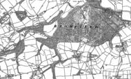 Old Map of Lady Halton, 1902