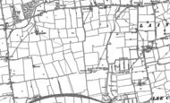 Old Map of Laindon, 1895