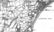 Old Map of Lake, 1907