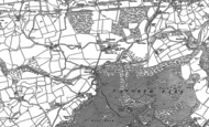 Old Map of Lanercost, 1899