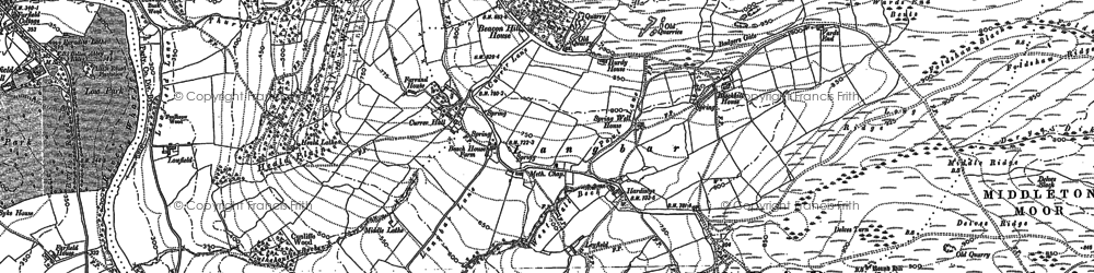 Old map of Ling Park in 1906