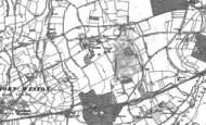 Old Map of Langham, 1900 - 1901