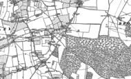 Old Map of Langley, 1867 - 1896
