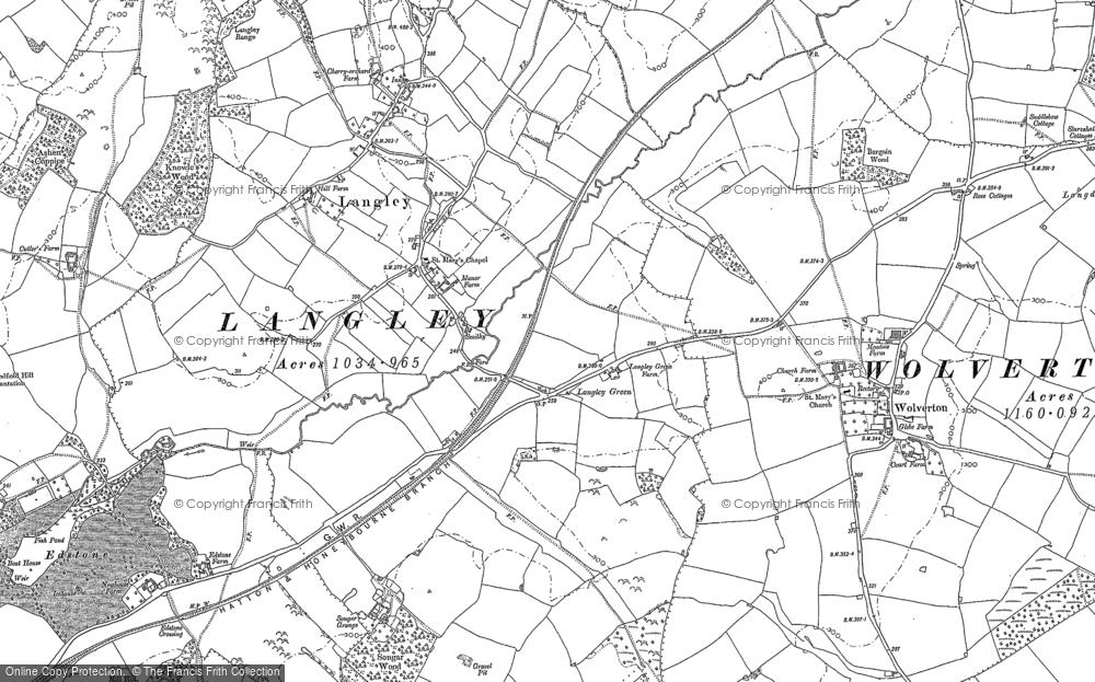 Langley, 1885 - 1886