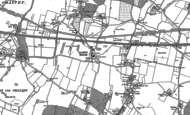 Old Map of Langley, 1923