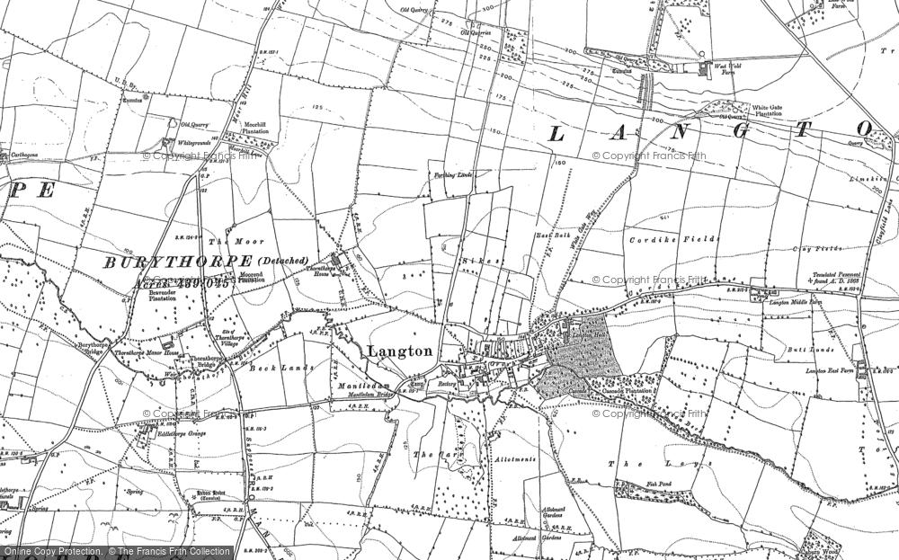 Langton, 1888 - 1891