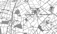 Old Map of Langton by Wragby, 1886