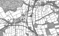 Old Map of Langwith, 1884 - 1897