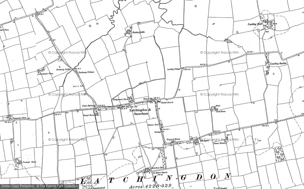 Latchingdon, 1895