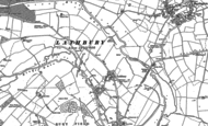 Old Map of Lathbury, 1899 - 1924