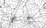 Old Map of Laughton, 1885 - 1902