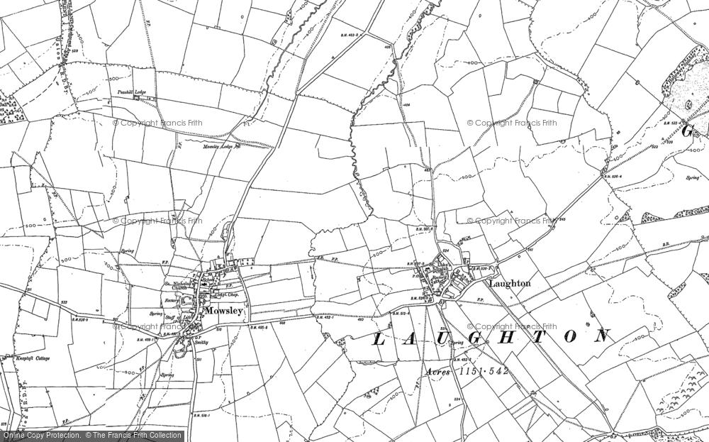Laughton, 1885 - 1902
