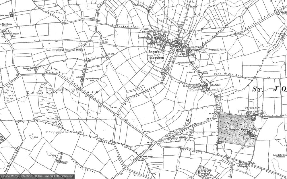 Laughton Common, 1890 - 1901