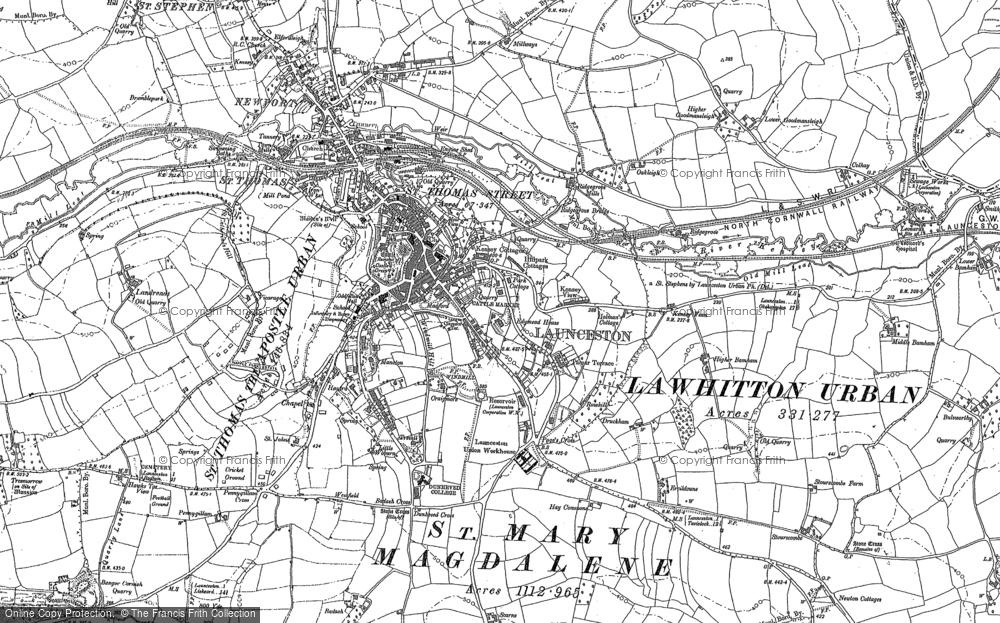 Launceston, 1882 - 1883