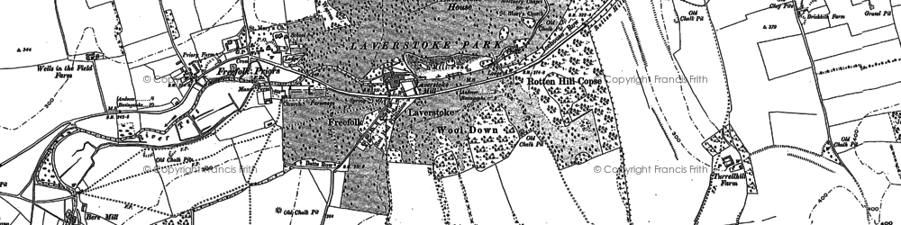 Old map of Abra Barrow in 1894