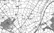 Old Map of Lawford Heath, 1886 - 1903