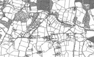 Old Map of Layer de la Haye, 1895 - 1896
