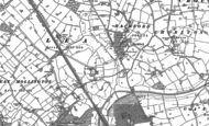 Old Map of Lea by Backford, 1898