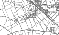 Old Map of Leagrave, 1879 - 1900