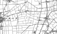 Old Map of Leasingham Moor, 1887