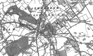 Old Map of Leatherhead, 1894 - 1895