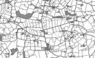Old Map of Leavenheath, 1885
