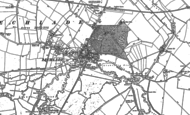 Old Map of Lechlade on Thames, 1896 - 1910