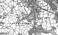 Old Map of Leckhampton, 1884