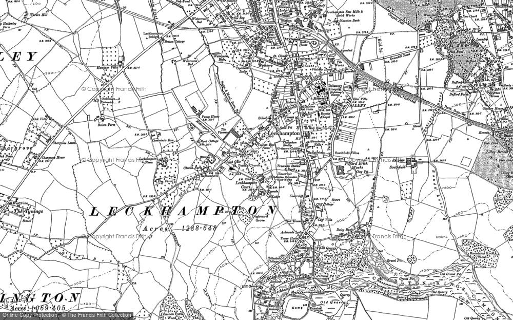 Leckhampton, 1884