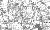 Old Map of Leddington, 1903