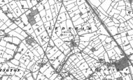 Old Map of Ledsham, 1897 - 1909